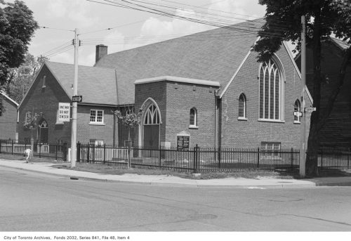 Facade of First Baptist Church