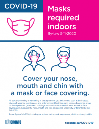 screenshot of mandatory mask poster