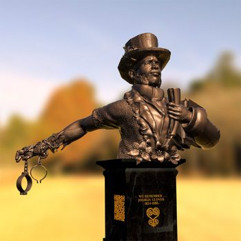 VerCetty's sculpture bust of Joshua Glover