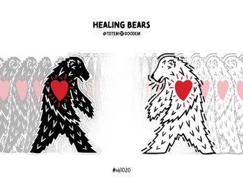 Healing Bears artwork by Jordan Stanger