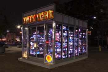 Twilight art installation by Rhonda Weppler and Trevor Mahovsky