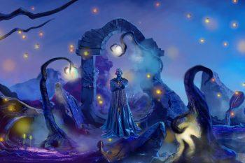 #BlueGirl SuperNova art project by Rah Eleh