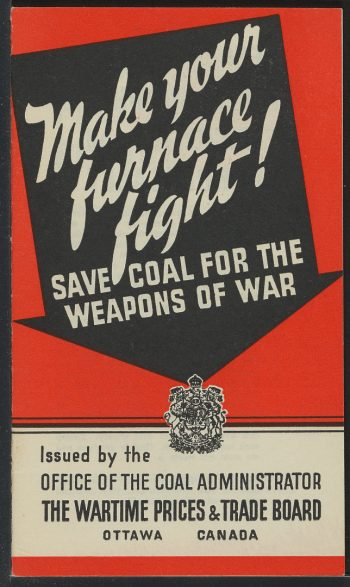 Wartime publication cover