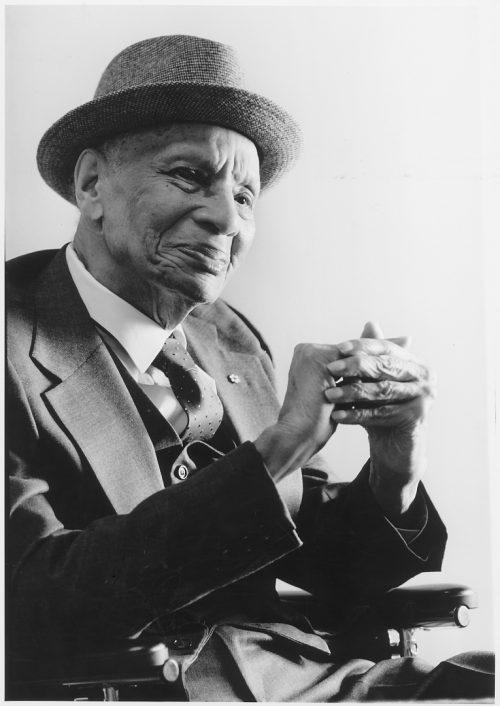 Portrait photograph of Donald Moore