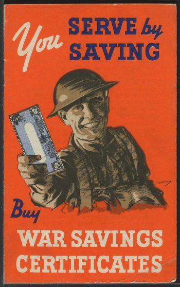 War Savings Certificates poster