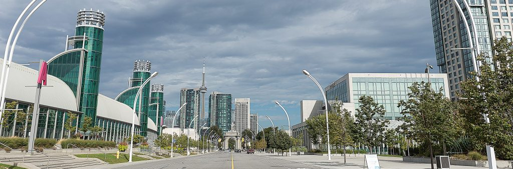 Image of Princess Boulevard by the Exhibition Place