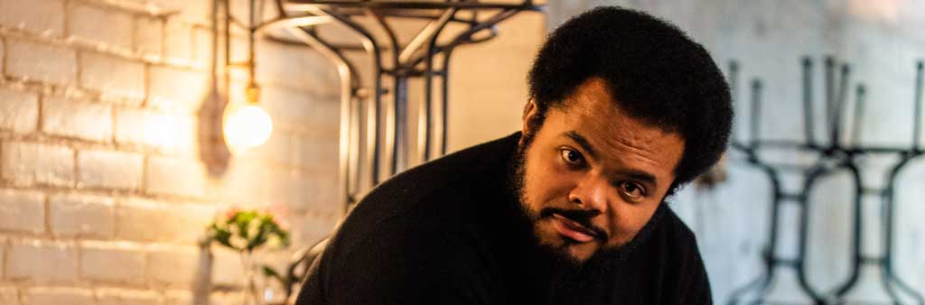 """Portrait of """"Behind the Curtain"""" program artist Roger Mooking"""