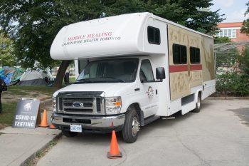 Photo of Anishnawbe Health Team Mobile Healing Bus