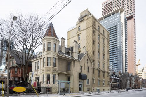 Picture of building at 556 Sherbourne Street.