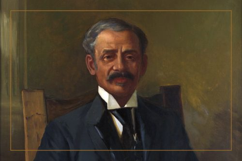 Portrait of William Hubbard - Toronto's first politician of African descent
