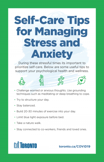 tips for managing stress and anxiety