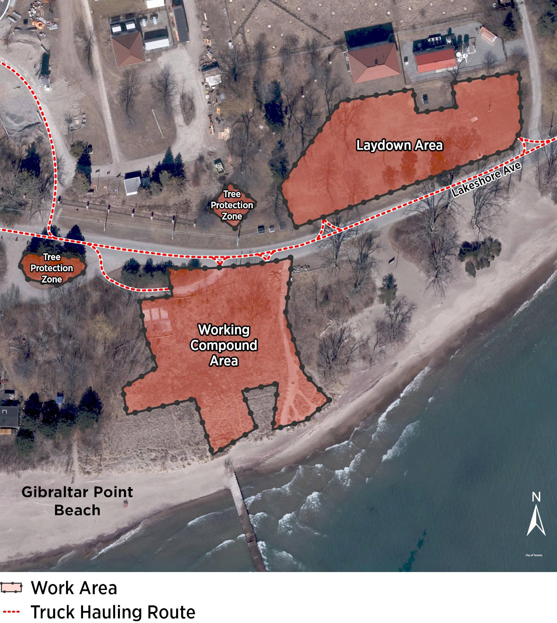 Island Park Enwave Construction Map