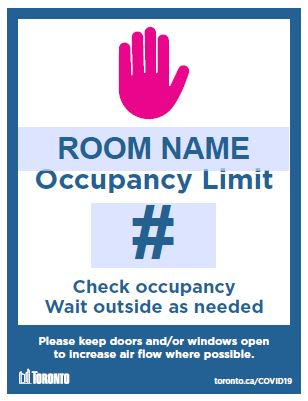 Thumbnail image of downloadable Occupancy Limit sign