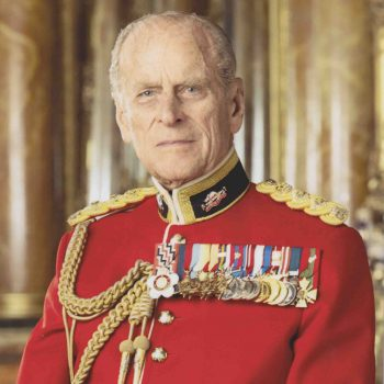 Image of the Duke of Edinburgh wearing the uniform of Colonel-in-Chief of The Royal Canadian Regiment
