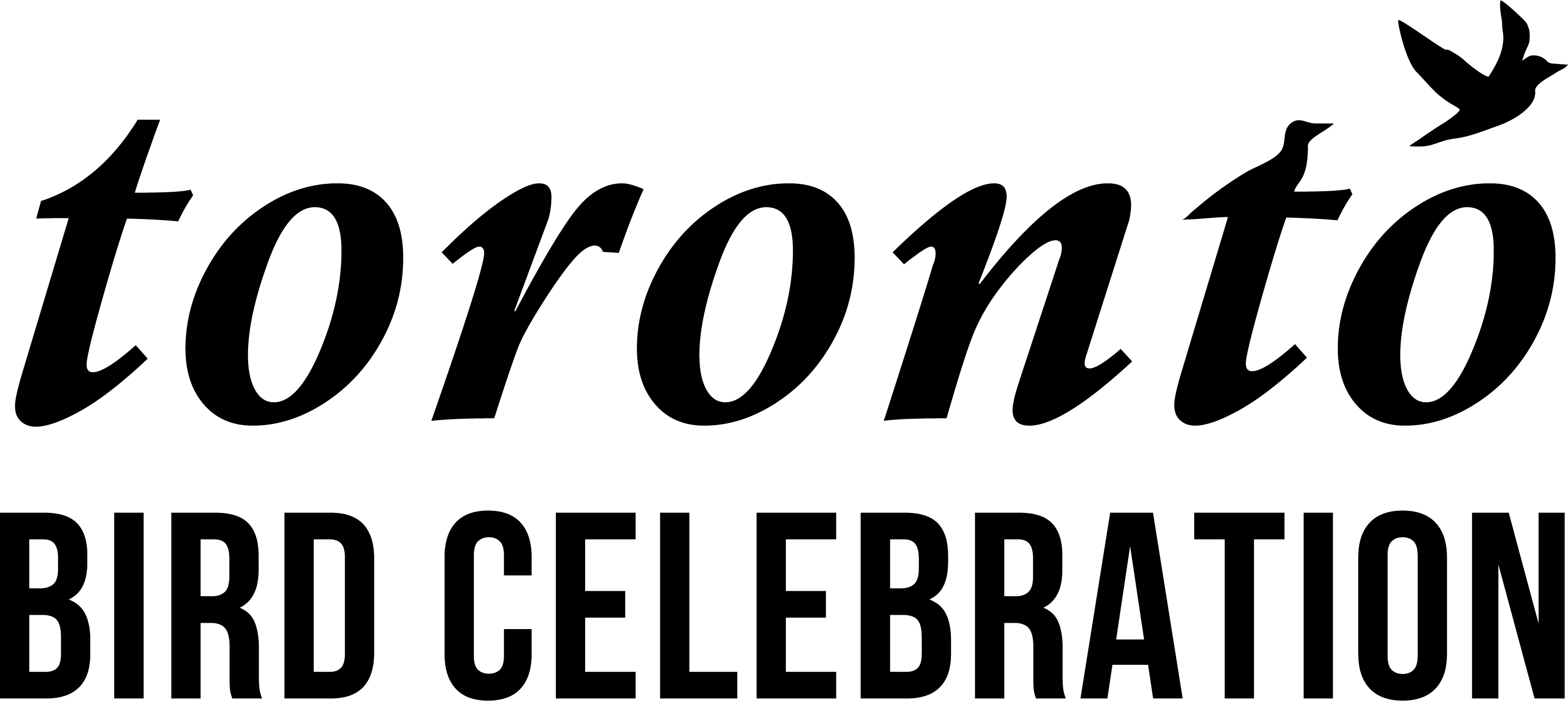 Toronto Bird Celebration wordmark