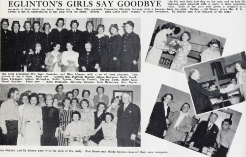 Photo essay of the farewell party for the women drivers from Eglinton Division