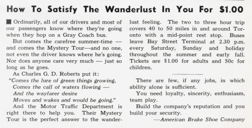 Article about the Mystery Tour