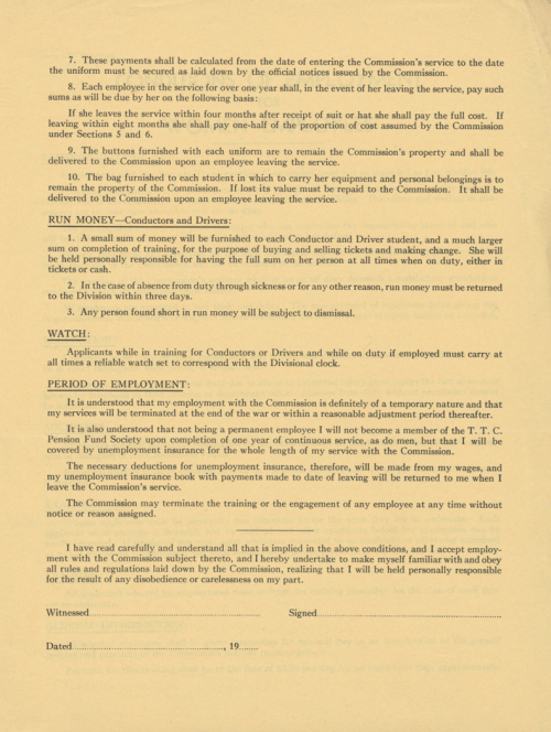 Page three of a contract