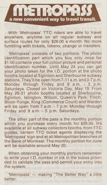Article titled Metropss a convenient way to travel transit