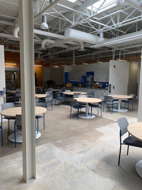 Dining Hall at 705 Progress