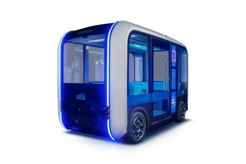 Olli 2.0 Automated Shuttle