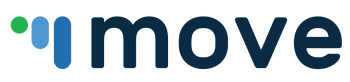 The logo for MOVE
