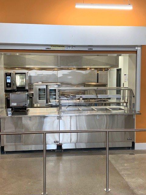Kitchen at 705 Progress