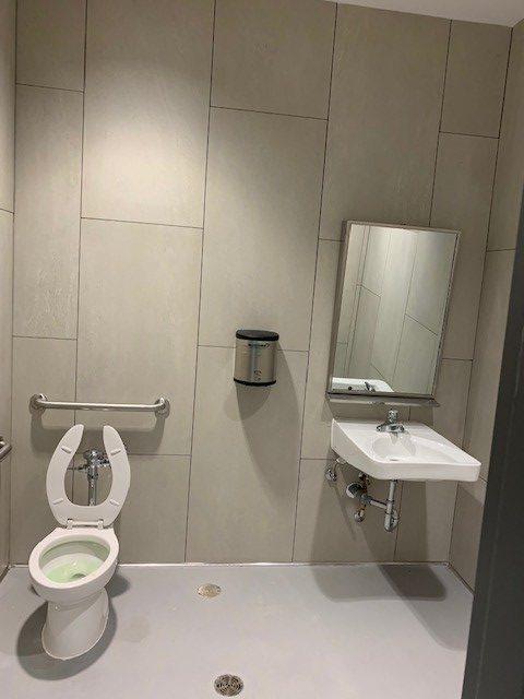 Washroom at 705 Progress