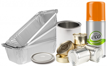 various metal containers