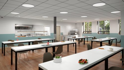 Dining area of 101 Placer Court
