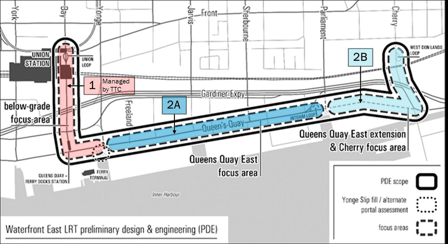 Waterfront East Light Rail Transit Preliminary Design and Engineering Image