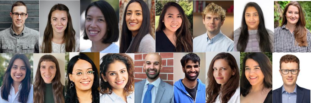 2021 Toronto Urban Fellows Cohort