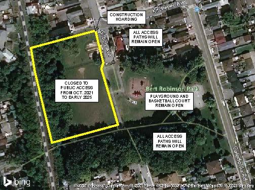 Bert Robinson Park Map - What's Open
